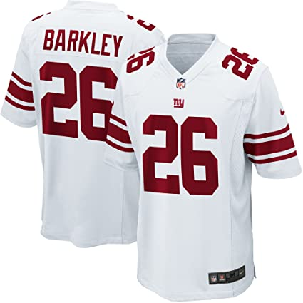 Nike New York Giants Saquan Barkley Youth Boys Game Jersey - White (Youth  XL( 4b0ddd555