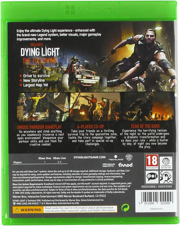 Warner Bros Dying Light: The Following - Enhanced Edition, Xbox ...