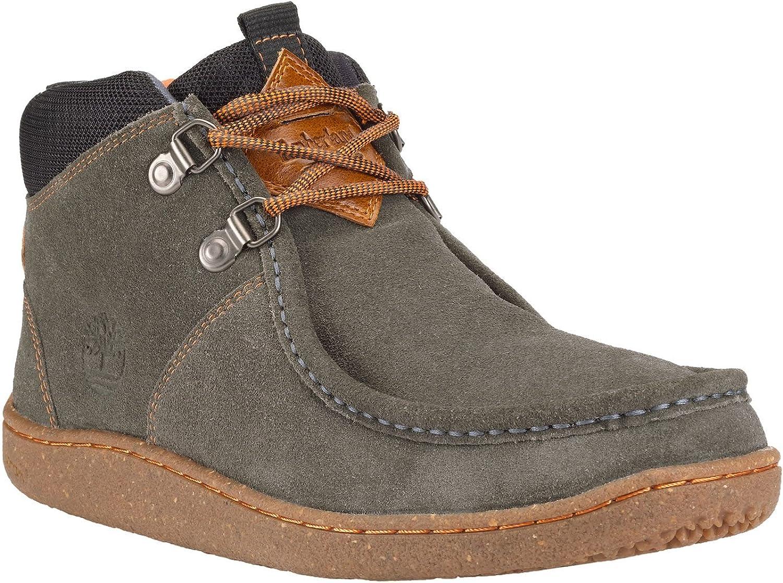Timberland - Zapatos de Cordones para Hombre Gris Gris, Color Gris ...
