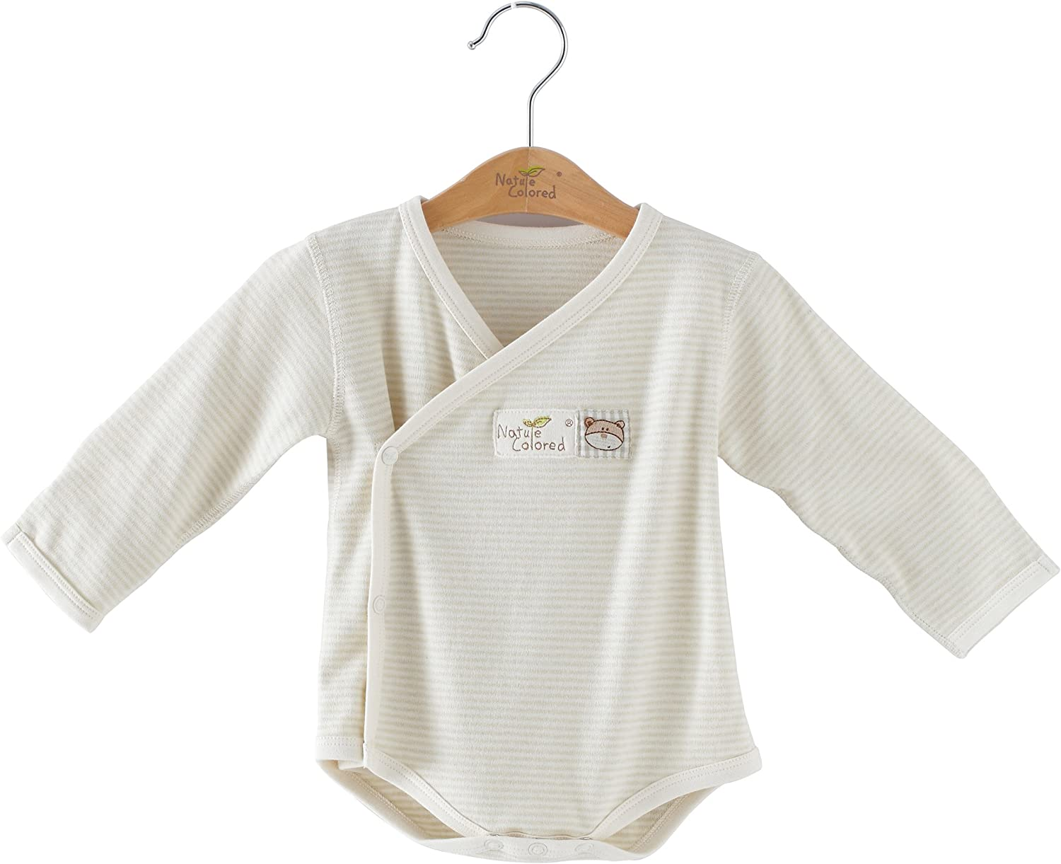 New Arrival!Naturecolored baby bodysuit with 100/% naturally colored cotton