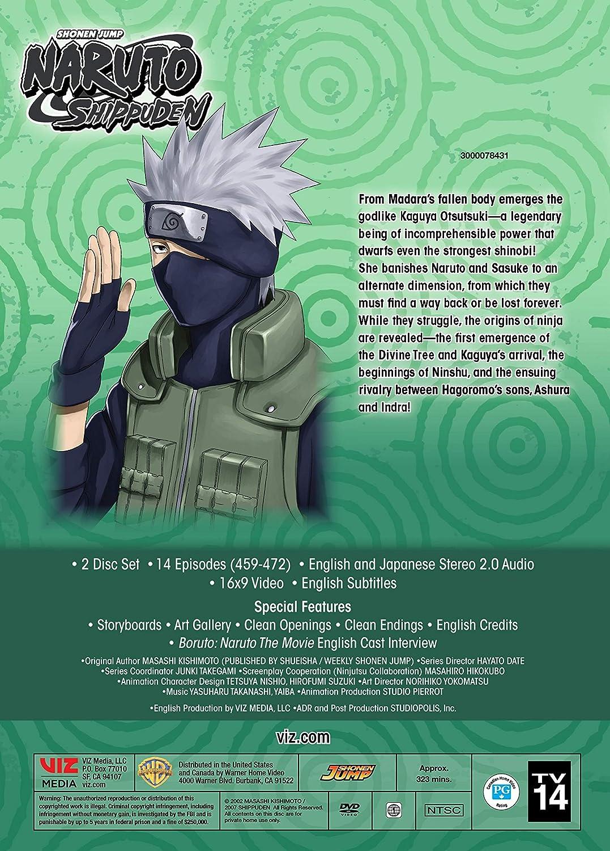 Amazon com: Naruto Shippuden Uncut Set 36 (DVD): Various