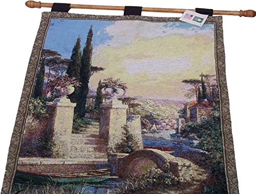 Art Fronckowiak Manual Woodworkers Weavers La Barchetta Tapestry Wall Hanging