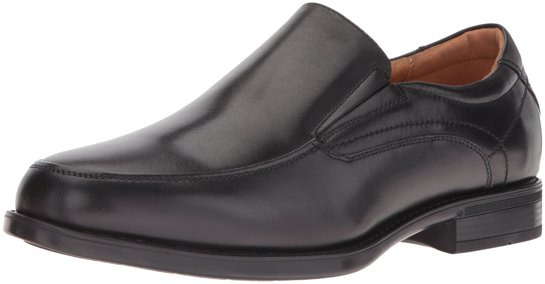 Florsheim Men's Medfield Moc Toe Slip-on Loafer, Black, 9 D US by Florsheim