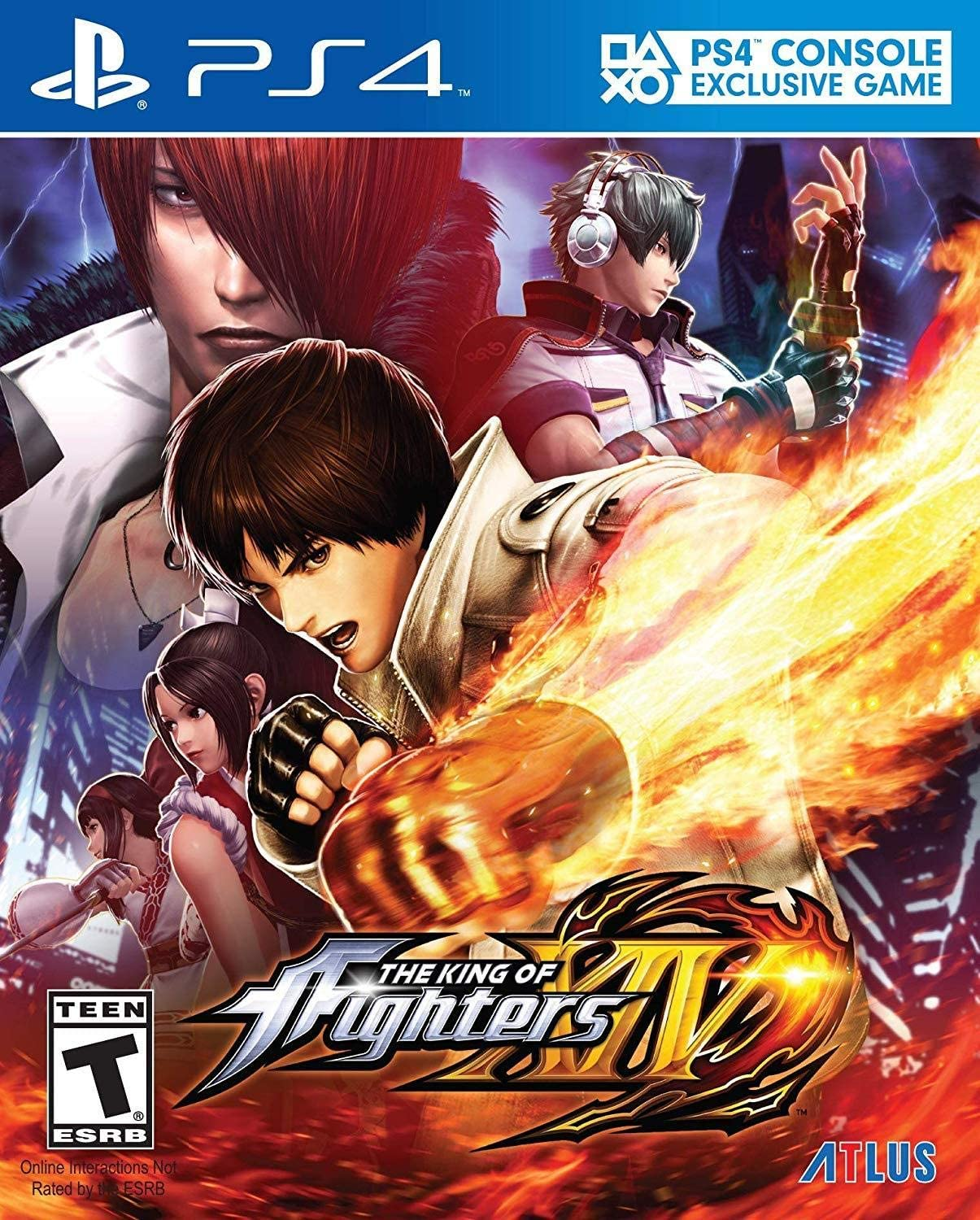 Amazon com: The King of Fighters XIV - PlayStation 4: Sega