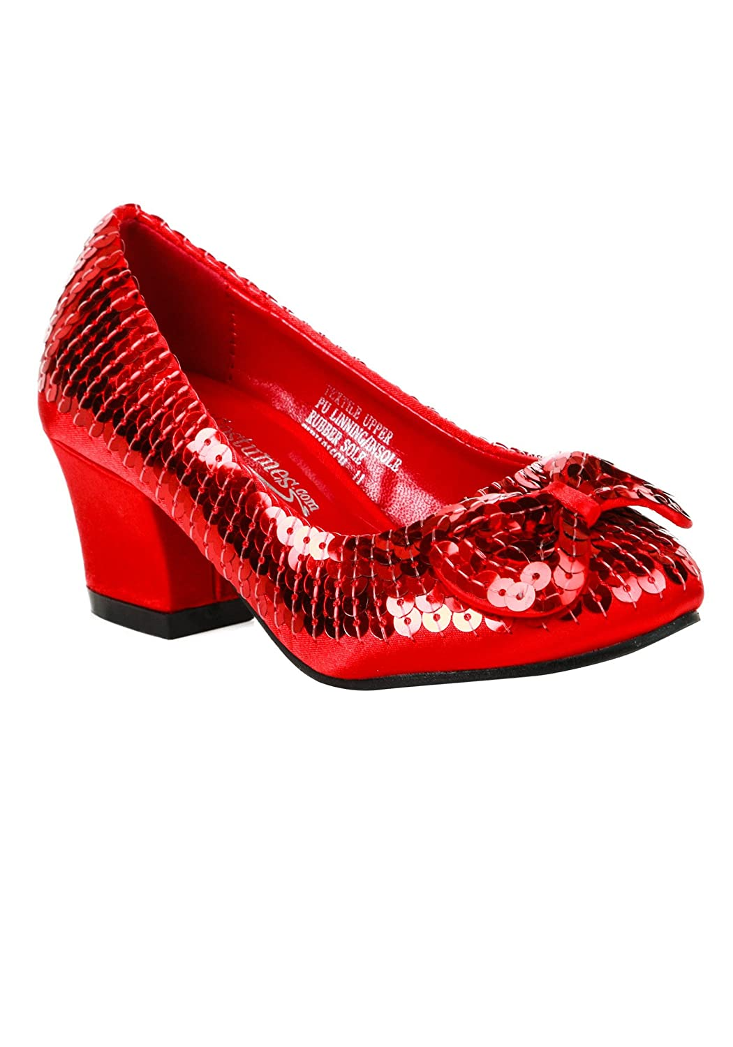 Fun Costumes Child Red Sequin Shoes