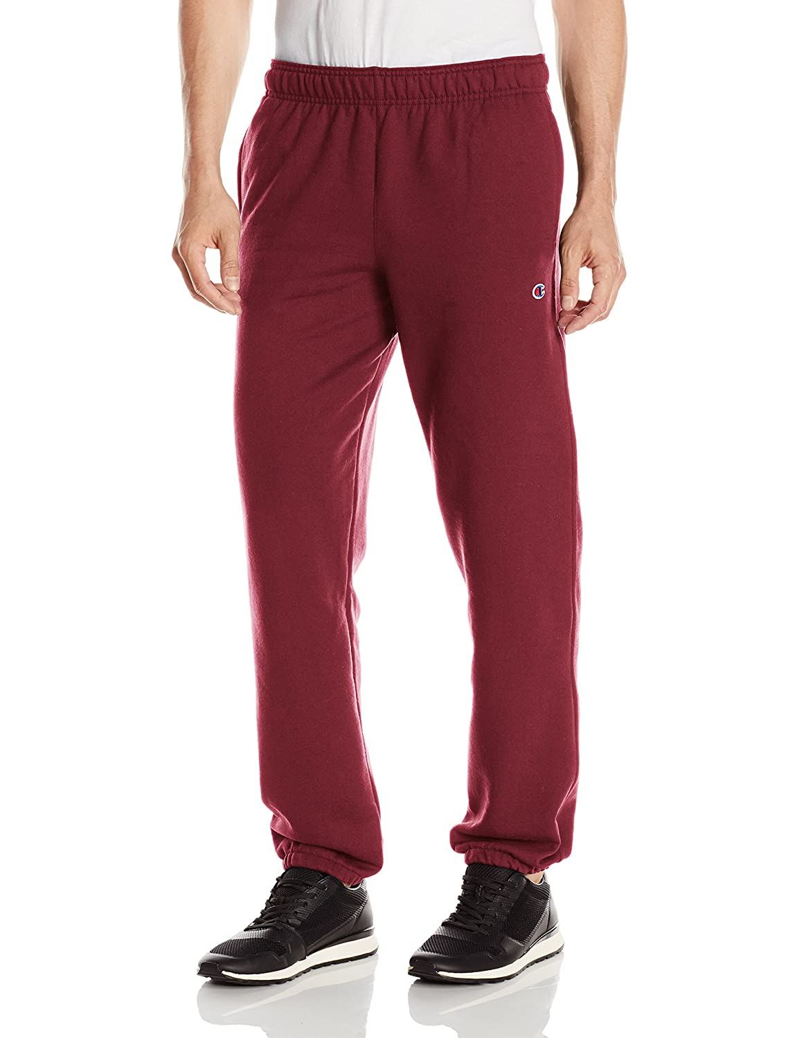 Champion Mens Standard Powerblend Relaxed Bottom Fleece Pant Champion Men' s Athletic P0894
