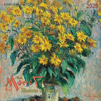 Calendario 2020 artístico de Monet Flores - Pintura ...