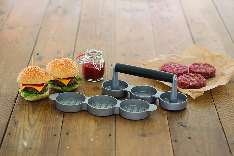 Sabatier 5186084 Burger Press Gray
