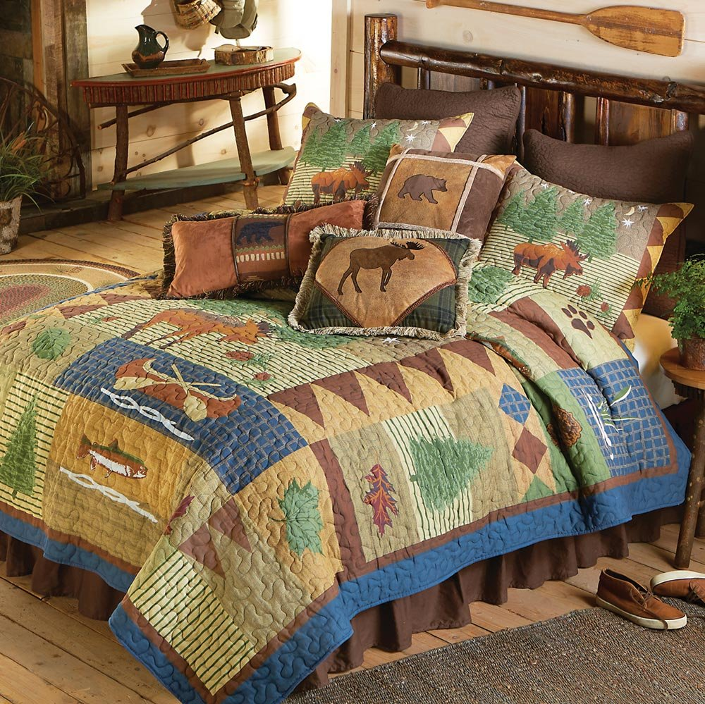 Grand Teton Rustic Deluxe Bed Set from The Cabin Place!
