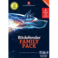 BitDefender Total Security Latest Version (Windows / Mac / Android / iOS) - 5 User, 1 Year (Activation Key Card)