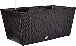 product image for DMC Products 32-Inch Rectangle Resin Wicker Vista Planter
