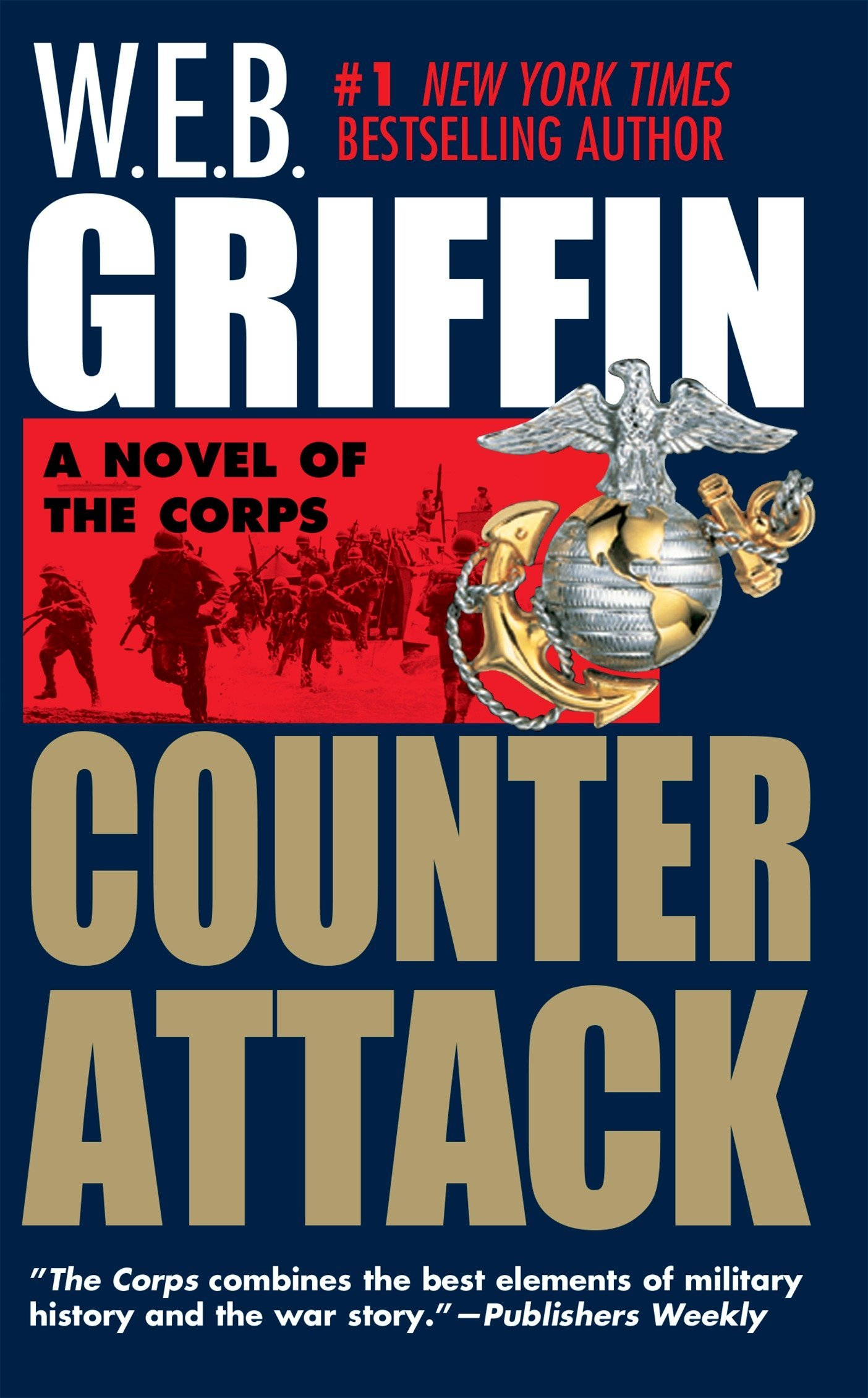 Read Online Counterattack (The Corps Book 3) ebook