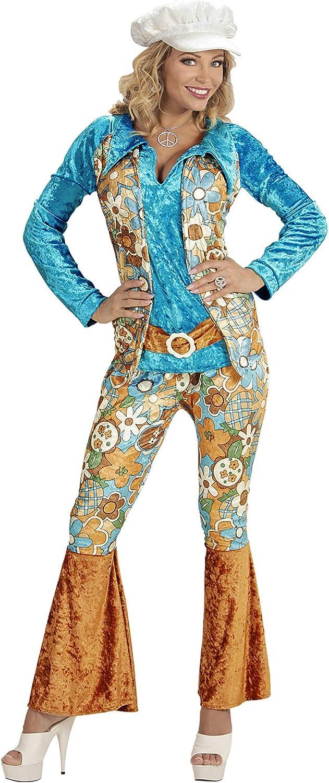 WIDMANN Desconocido Disfraz de Hippie de Mujer - Talla XL
