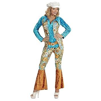 WIDMANN Desconocido Disfraz de Hippie de Mujer - Talla XL: Amazon ...