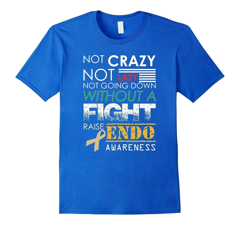 Fight Raise Endo Awareness Ribbon March T Shirt-Teevkd