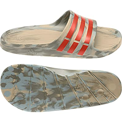 d30fb46fa adidas Unisex Adults  Duramo Slide Flip Flops  Amazon.co.uk  Shoes ...