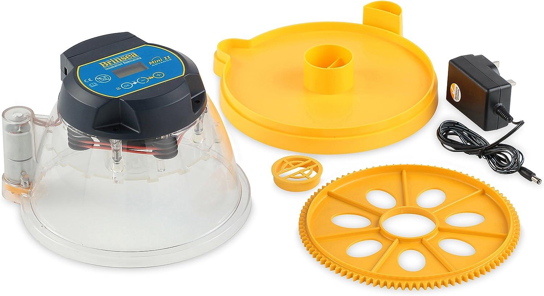 Brinsea Products Mini Ii Advance Automatic 7 Egg Incubator One Size Yellow Black Usab16c Pet Supplies