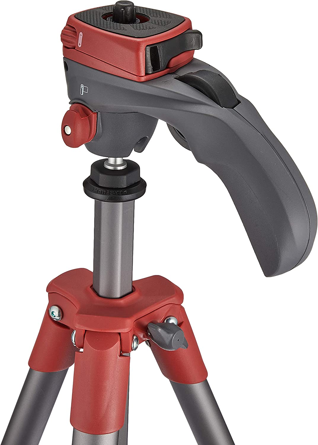 Manfrotto Compact Action Aluminium Tripod with Hybrid Head forEntry-Level DSLRs Mirrorless up to 1.5kg Black