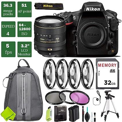 Amazon com : Nikon D810 DSLR Full Frame Camera with 24-120mm