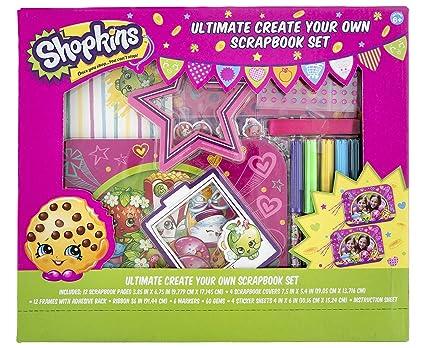 Amazoncom Shopkins Ultimate Create Your Own Scrapbook Set Toys