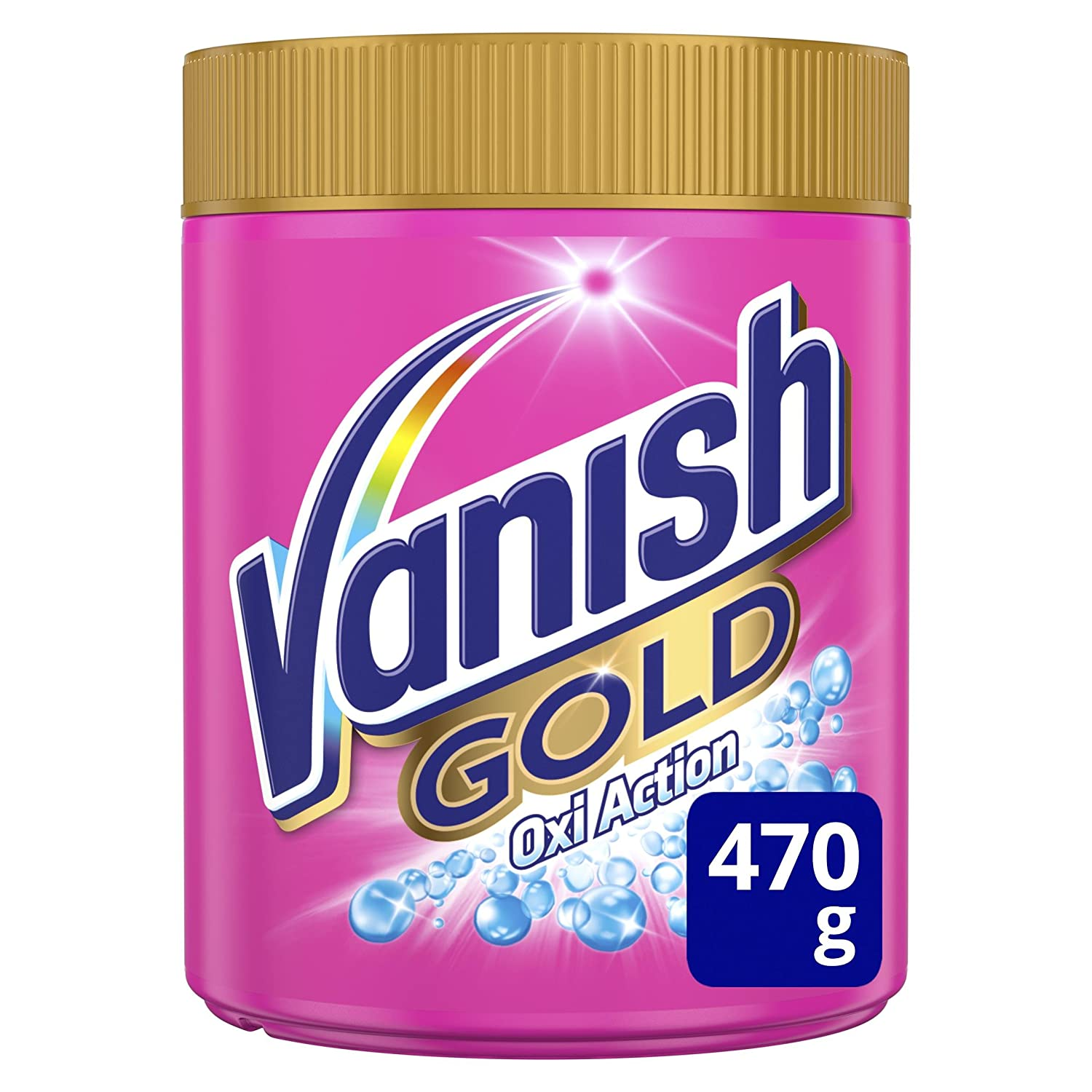 Vanish Gold Oxi Action, Quitamanchas Polvo, Color - 470 gr: Amazon.es: Salud y cuidado personal