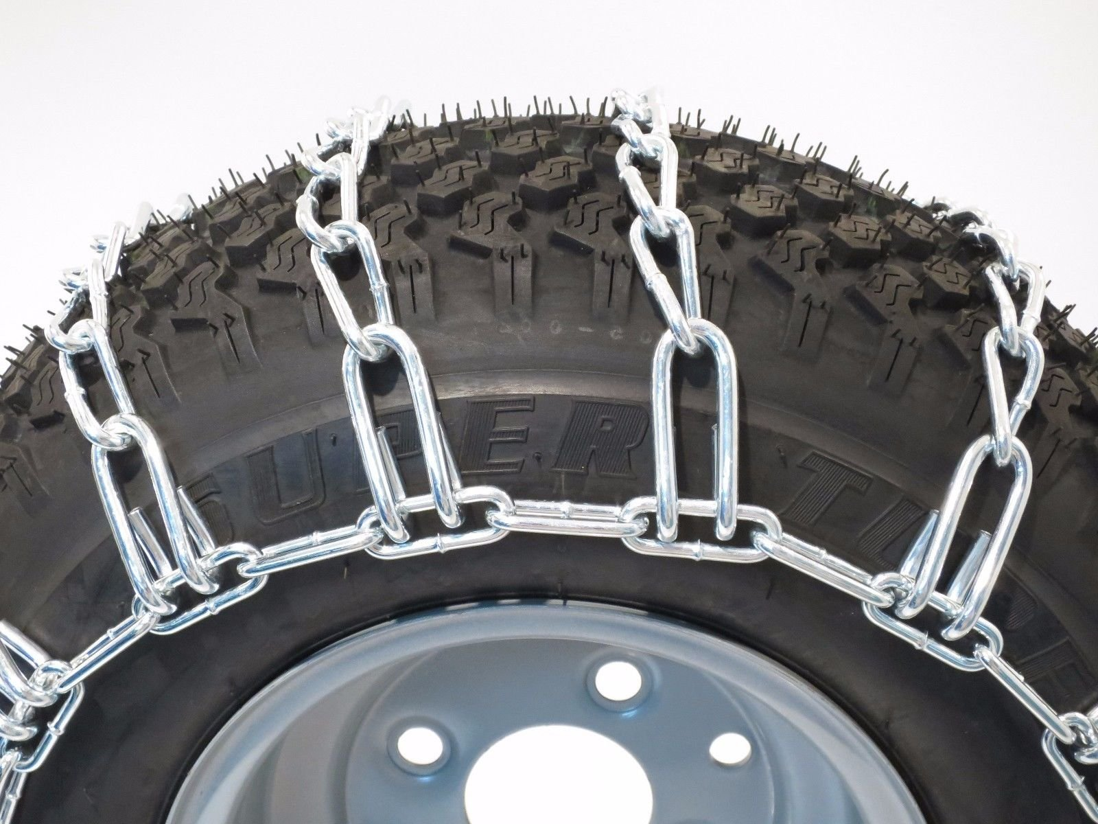 New PAIR 2 Link TIRE CHAINS 23x10.5x12 fits many Honda MUV Pioneer UTV Vehicle by The ROP Shop by The ROP Shop (Image #1)