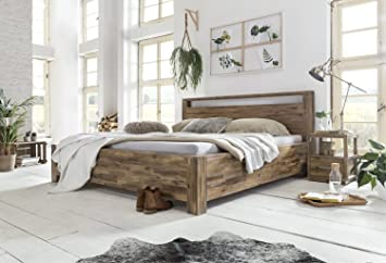 Woodkings Bett 180x200 Havelock Doppelbett Akazie Rustic ...