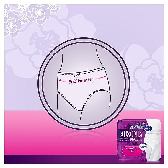 Ausonia Discreet Plus Braguitas Pants para Pérdidas de Orina, Talla G - 8 Unidades: Amazon.es: Belleza
