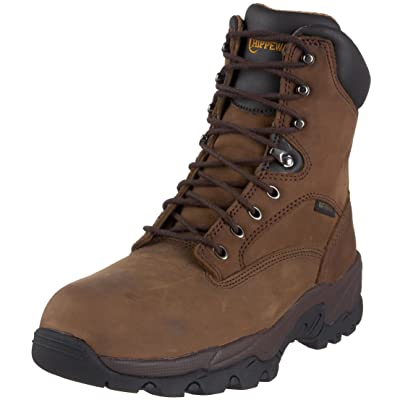 """Chippewa Men's IQ- 8"""" Composite Toe Waterproof Boot   Industrial & Construction Boots"""