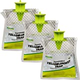RESCUE! Disposable Summer Yellowjacket Trap - Eastern Time Zones - 3 Traps