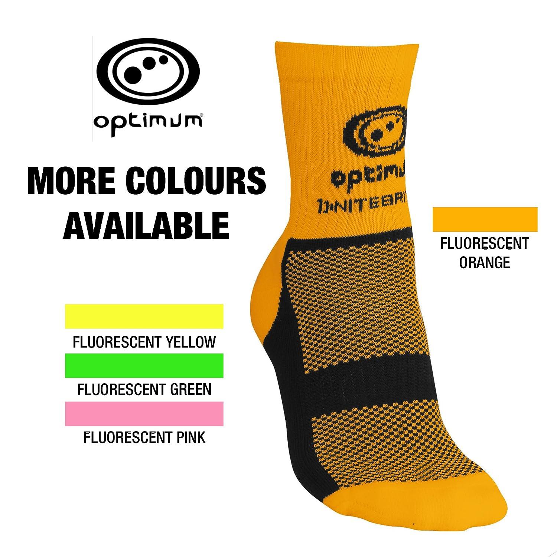 Optimum Mens Nitebrite Hi-Viz Winter Cycling Socks 7-11, Yellow