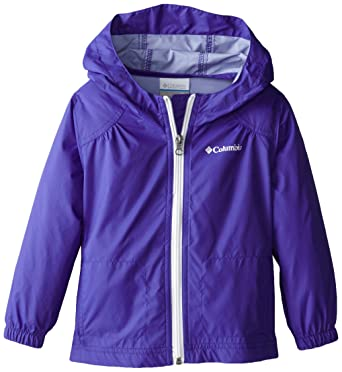 bf81bbc06 Columbia Little Girls' Switchback Rain Jacket, Light Grape, XX-Small