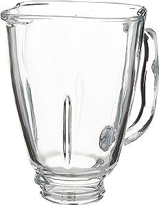 Oster Clover Top Glass Blender Jar, 5-Cup, Clear (Renewed)