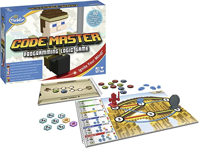 Thinkfun Code Master Juego de habilidad, Multicolor (Ravensburger 76345) , color/modelo surtido: Amazon.es: Juguetes y juegos