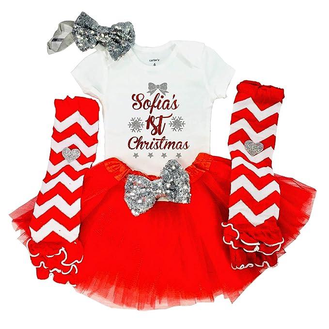 Amazon.com: Funmunchkins - Disfraz de primera Navidad para ...