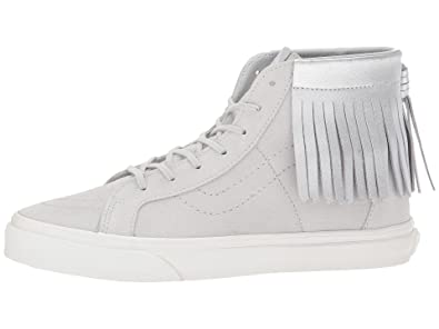 cf1552d7c68 Vans Kids Sk8-Hi Moc (Little Kid Big Kid) Girl s Sneaker (