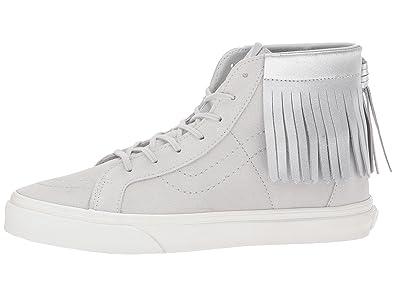 7d02ea7691397b Vans Kids Sk8-Hi Moc (Little Kid Big Kid) Girl s Sneaker (