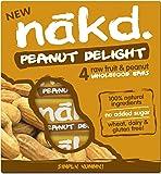 Nakd Peanut Delight 35g Bar - Multipack Case of 48 Bars