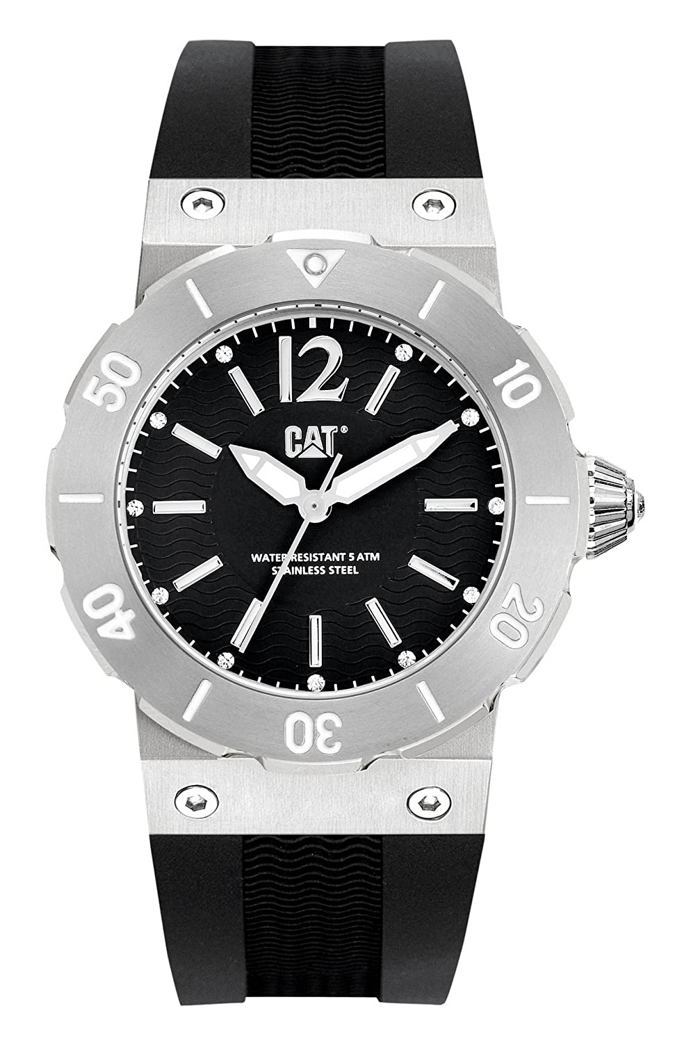 Amazon.com: CAT RELOJES - D2 341 21 131 - DAMA - ACTIVE OCEAN LADY: CAT WATCHES: Watches