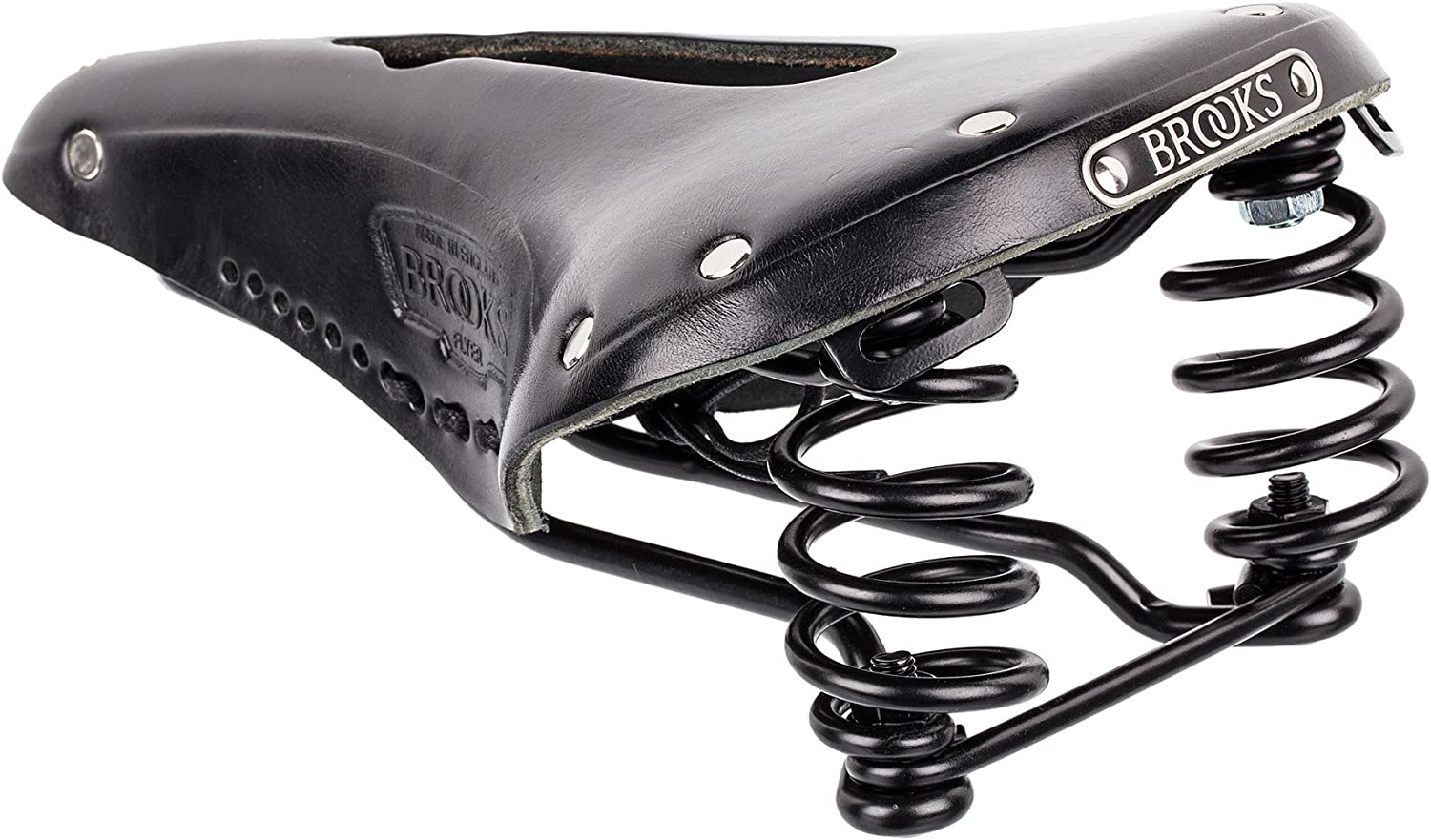 Brooks England Men/'s Flyer Black Steel Rail Various Sizes and Colors
