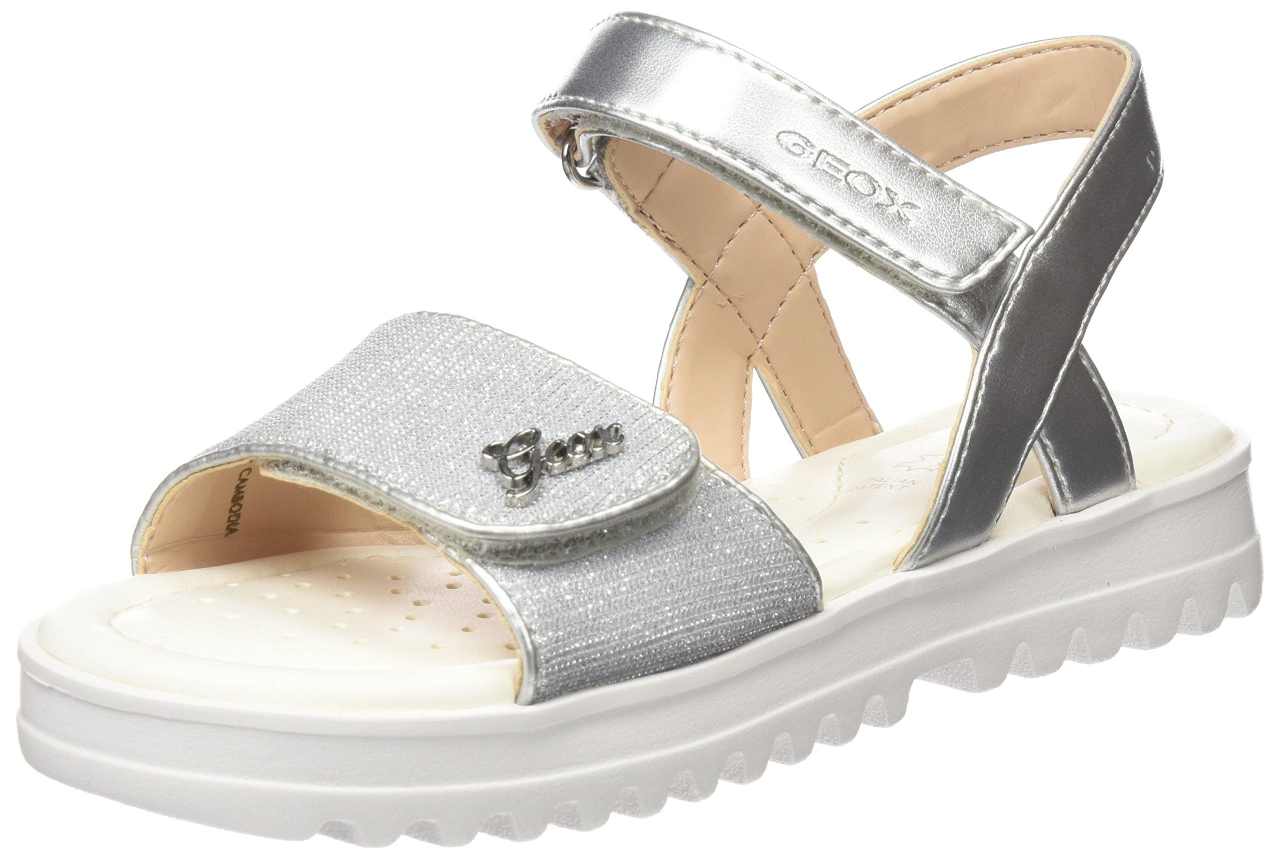 Geox Sandals J826EG 0EWNF C1007 39 Silver