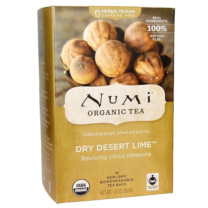 NUMI - Té Natural Lima Seco del Desierto - Agradable Nota ...