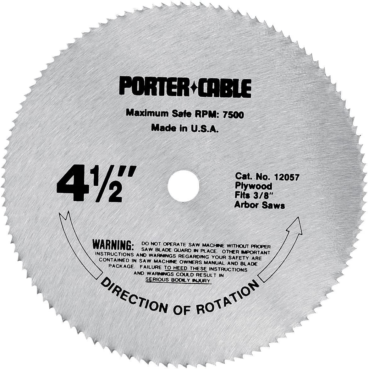 circular saw blade for plywood