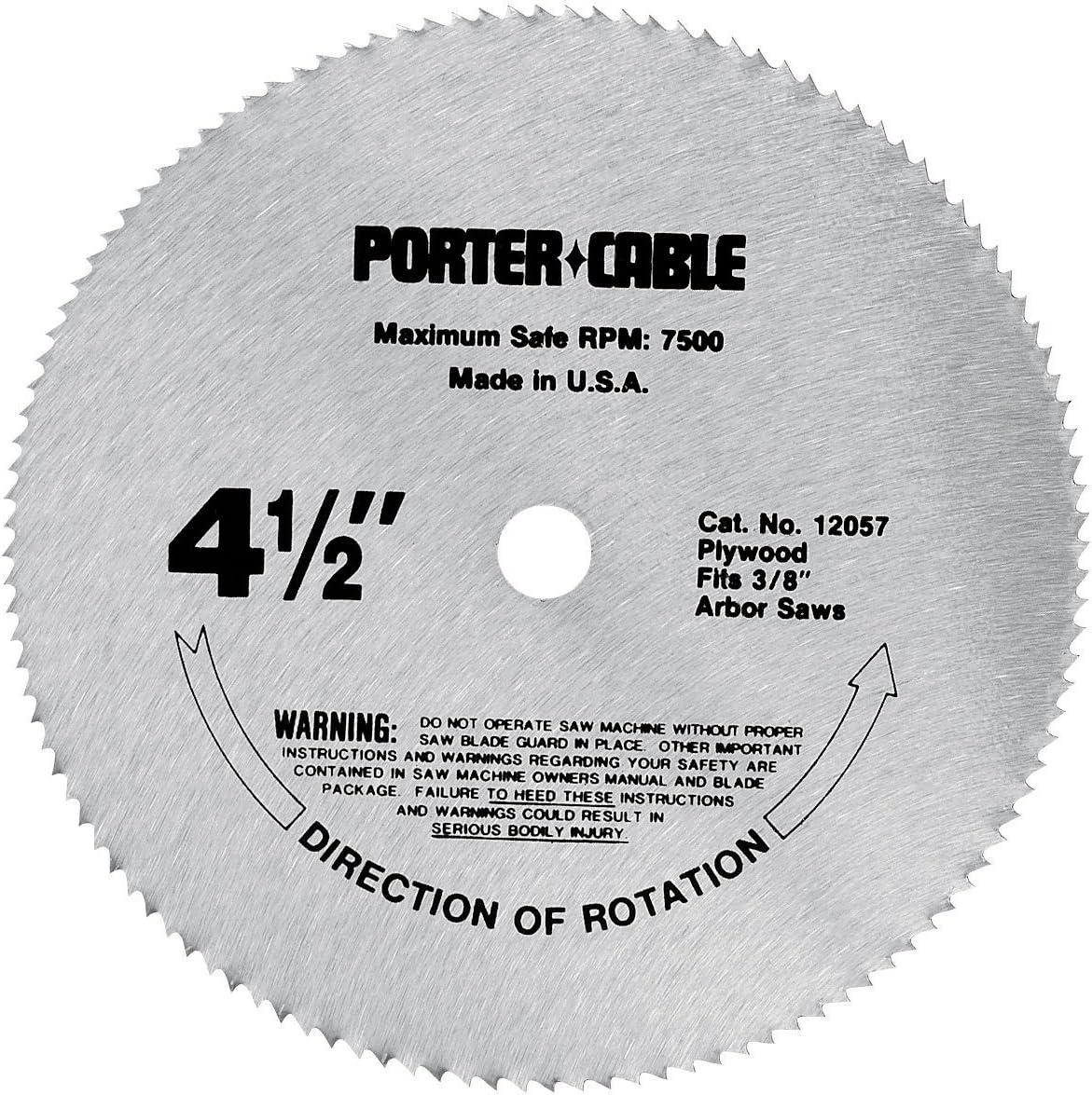 Porter-Cable 4-1/2 Inch Circular Saw Blade