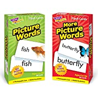 Trend Enterprises Inc T-53906 Picture Words Skill Drill Flash Cards Assortment