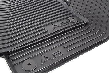 Audi Gummifussmatten A5 8T vorn Gummimatten Gummi Fußmatten Matten