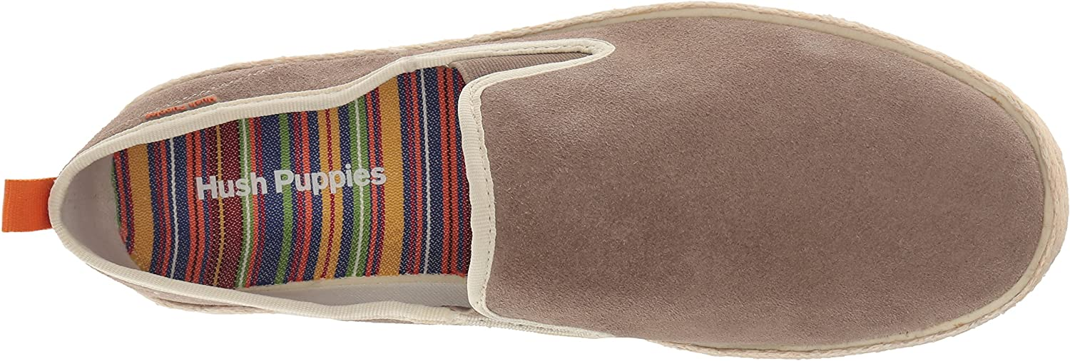 NEW Mens Hush Puppies Bold Yahman Loafers//Slip-On Blue Stripe Textile-Pick Size