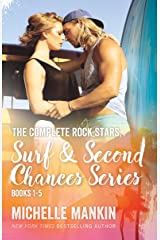 The Complete Rock Stars, Surf and Second Chances Series, Books 1-5: Beach Romance Surfing Kindle Edition