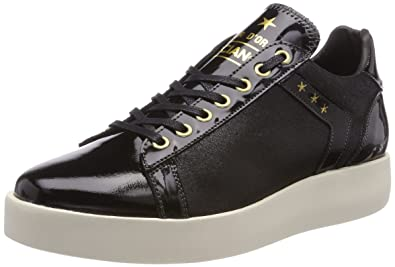 Pantofola d'Oro Lecce Glitter Donne Low, Baskets Femme, Schwarz (Black), 40 EU