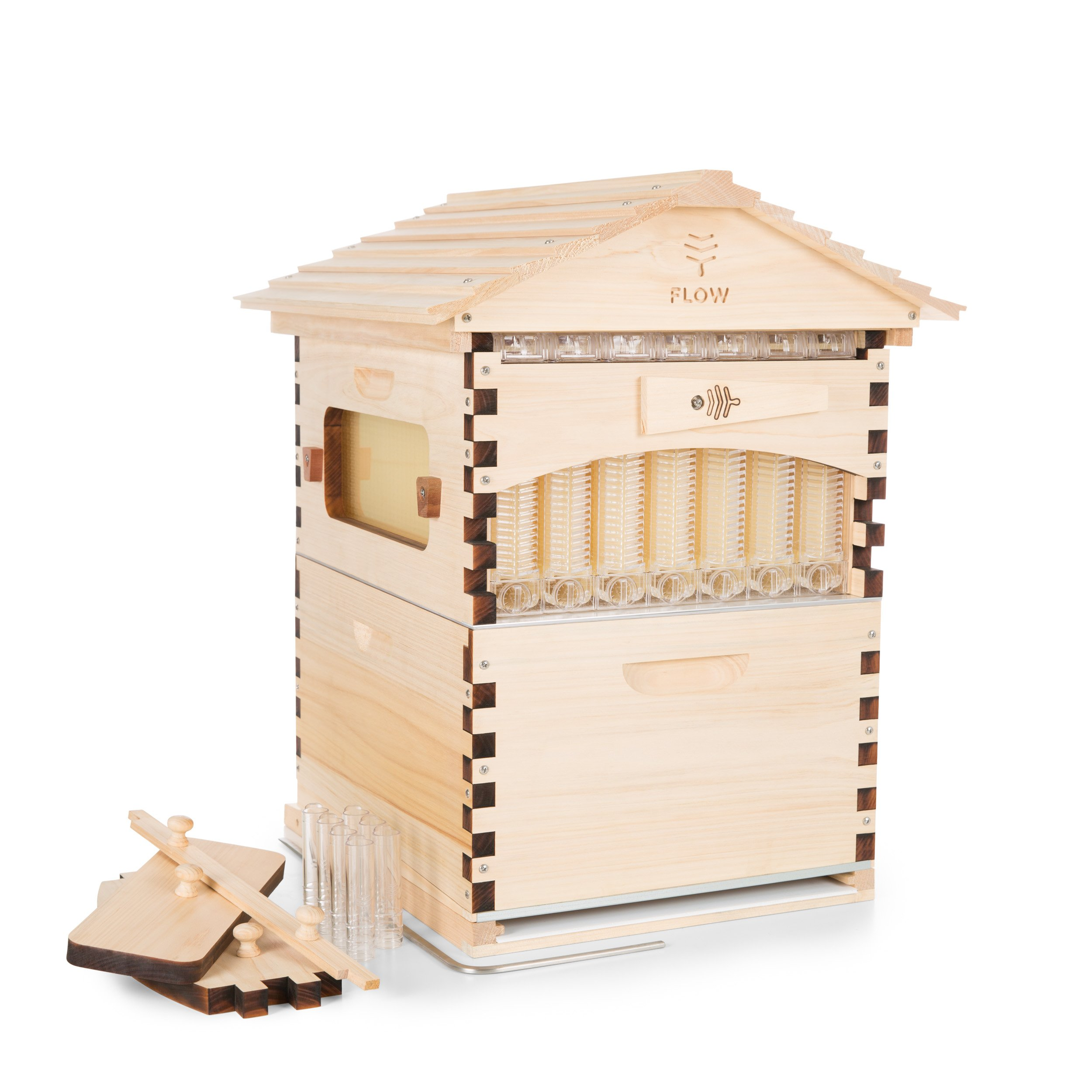 Official Flow Hive Classic Araucaria 7 Frame - Langstroth style beehive featuring our patented Flow tech, suitable for beginners & experienced beekeepers